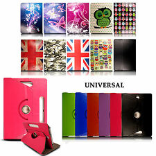 Universal 360 Rotating Stand Flip Leather Case Cover Holder For Various Tablets