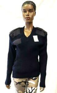 Navy Sweater Women's G.I. Type Wool V-Neck Sweater (38-52)- Rothco 6345