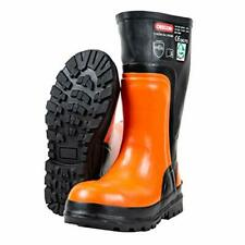Oregon Yukon 295385/45 Chainsaw Protective Rubber Safety Boot, 45