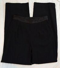 Alex Evenings Womens Black Polyester Blend Dress Pants Size S (J1#2977)