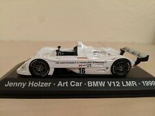 Minichamps 1:43 BMW V12 LMR #16 1999 Art Car Jenny Holzer
