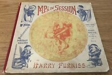 M.P.'s in Session - from Mr. Punch's Parliamentary Portrait Gallery 1889 1st