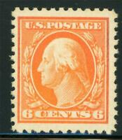 USA 1917 Washington 6¢ Perf 11 Unwmk Scott # 506 MNH X884