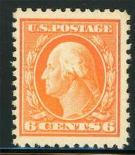 USA 1917 Washington 6¢ Perf 11 Unwmk Scott # 506 MNH X884