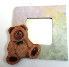 WALL MIRROR WITH HAND PAINTED BEAR