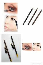 2pc Black and Brown Waterproof Liquid Eyeliner Pencil Pen Eye Liner - Beauty MA