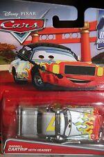 "DISNEY PIXAR CARS ""DARRELL CARTRIP W/ HEADSET"" IMPERFECT PACKAGE, SHIP WORLDWIDE"