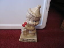 R & W Berries figurine Happy Birthday to a Special Friend