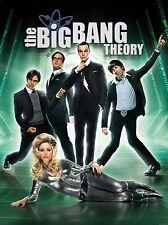 The Big Bang Theory TV Poster (24x36) - Johnny Galecki, Kaley Cuoco, Parsons NEW