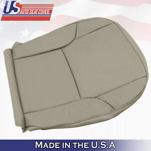 Fits 2003 - 2009 Toyota 4Runner Limited Driver Bottom Vinyl Seat Cover Color Tan