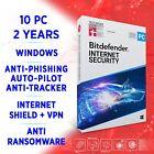 Bitdefender Internet Security 2021 10 PC 2 years / FULL EDITION +VPN