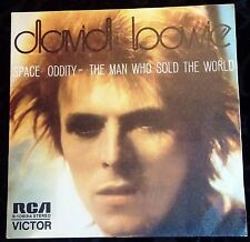 david bowie RCA 3-10834 45 Madrid Spain (M)/(EX) SPACE ODDITY/THE MAN WHO RARE!!