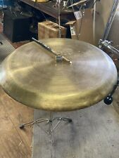 "Zildjian Vintage 27.25"" Cymbal Tam Tam Gong 1950's - Attached Video Links"