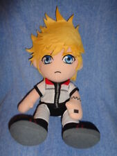 Doll Roxas Disney Kingdom Hearts Square Enix 2006 Plush Stuffed Boy Blonde Hair