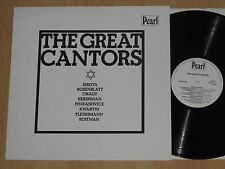 LP The Great Cantors-Sirota-ROSES FEUILLE-chagy-Hershman-pinkasovicz