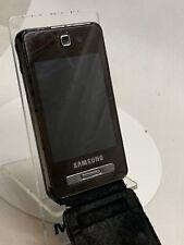 Samsung SGH F480i - Black (Unlocked) Mobile Phone