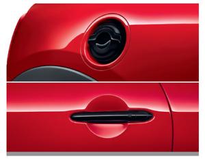 MINI F55 F56 F57 Piano Black Front Door Handles and Filler Cap 51712457412