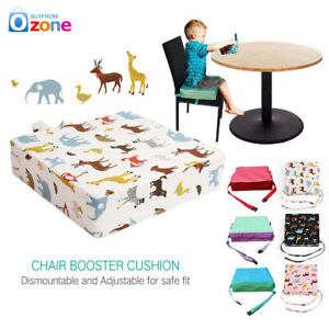 Child Baby Seat Chair Cushion Pad Toddler Kids Non-slip Dining Increased Booster