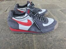 Blue and red Nike women's ACG sneakers