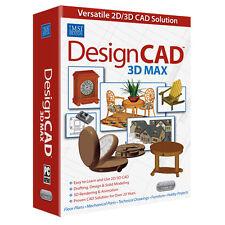 DesignCAD 3D Max v 25 CAD Design Software New