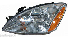 New Replacement Clear Halogen Headlight Assy LH / FOR 2004-07 MITSUBISHI LANCER