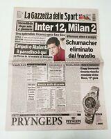 GAZZETTA DELLO SPORT 29 09 1997 GOLF EUROPA VINCE RYDER CUP COSTANTINO ROCCA
