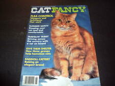 Cat Fancy June 1989 Flea Control, Ragdoll, Traveling Cats Id:47731
