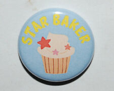 STAR BAKER 25MM / 1 INCH BUTTON BADGE FOODIE GIFT BAKING