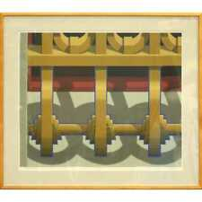 "Hugh Kepets (American b. 1945) 1980 Signed Serigraph ""E. 9th & Euclid"" 45/95"