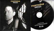 PHANTOGRAM Voices 2014 UK 11-trk promo CD numbered sleeve