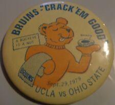 "RARE 1979 UCLA Bruins Vs. Ohio State ""Crack 'em Good"" A Buckeye Is A Nut Lot DC"