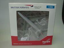 """Herpa Wings B 747-400 British Airways """"victoRIOus"""", goldene Nase, 512497-003"""