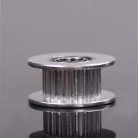3D Printer Parts 20T Belt Width 6mm GT2 Belt Idler Pulley 5mm Bore Aluminum Fad.