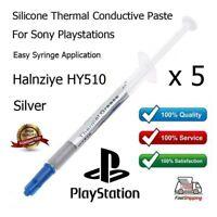 5X Alta Calidad Gris Plateado Térmico Disipador Pasta Grasa Para Playstations