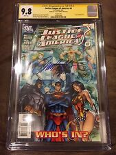 JUSTICE LEAGUE OF AMERICA #0 CGC 9.8 SIGNED J SCOTT CAMPBELL 1:10 VARIANT DC