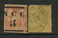 Lot France New Caledonia 1883-1891 M/U, 1648