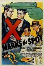 X Marks the Spot (1942) Crime / Mystery Film DVD