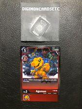Digimon Card Game P-001 Agumon P PROMO Special Ver. 0.0 ENGLISH NM