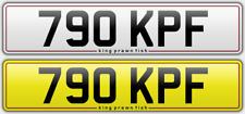 790 KPF number plate private dateless personal registration Ken Kim Kay Karl KF