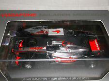 NEW Vodafone McLaren 1:43 ~ Lewis Hamilton ~ 2011 German GP Victory ~ Formula 1