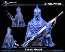 Star Wars Gentle Giant Senate Guard mini Bust Statue Rare Promo Mint