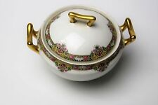 Limoges Elite Works Bawo & Dotter Bwd30 Beautiful Sugar Bowl With Lid Look!