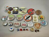 Vintage Pinback Lot 1960's -1980's I Love NY Dutch Wonderland Good Sam Club