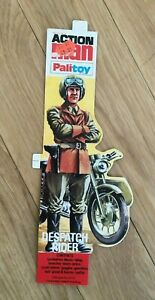 Vintage Action Man Despatch Rider Card