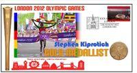 STEPHEN KIPROTICH 2012 OLYMPIC MARATHON GOLD MEDAL COV
