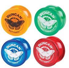 Duncan Butterfly wide shape long spin tricks yoyo. Classic beginners yo-yo.