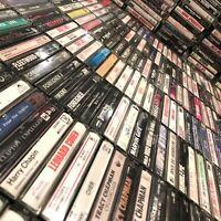 BUILD UR OWN Cassette Tapes Lot - 60s 70s 80s - Pink Floyd, Cream, Boston + More