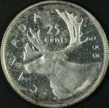 1955 Canada 25-cent Silver Coin Prooflike Cameo