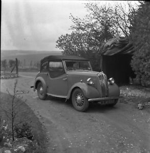 B/W 6x6 Negative Vintage Car Standard 8 + Copyright rdb180