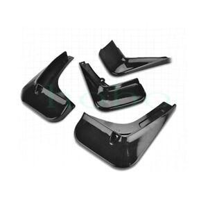 4x For Chevrolet Malibu 2015-2020 Black Left+Right Fender Mud Guard Trim Splashs